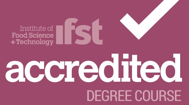 IFST accredited degree course