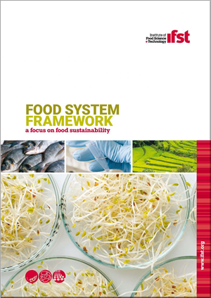 Sustainable Food System - IFST framework