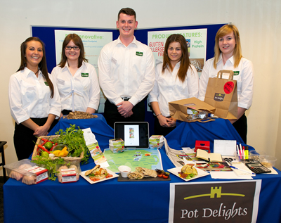 Pot Delights - College of Agriculture Food and Rural Enterprise - Loughry Campus